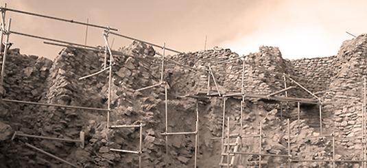 primeras excavaciones de la Motilla